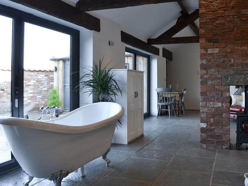 Stand alone bath | Sunset Barn - Westfield Barns, Normanby, near Helmsley