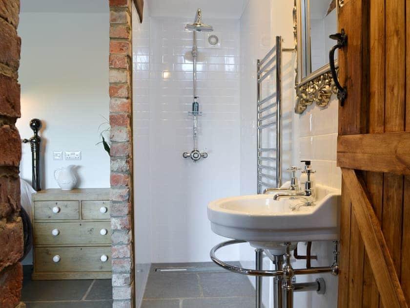 Shower area | Sunset Barn - Westfield Barns, Normanby, near Helmsley