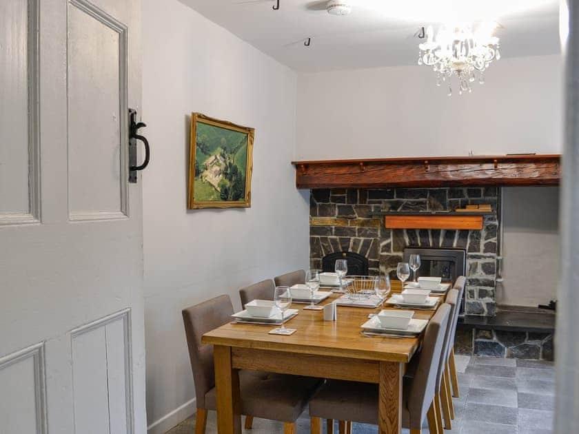 Dining area | Pengarreg Fawr, Llanilar, near Aberystwyth