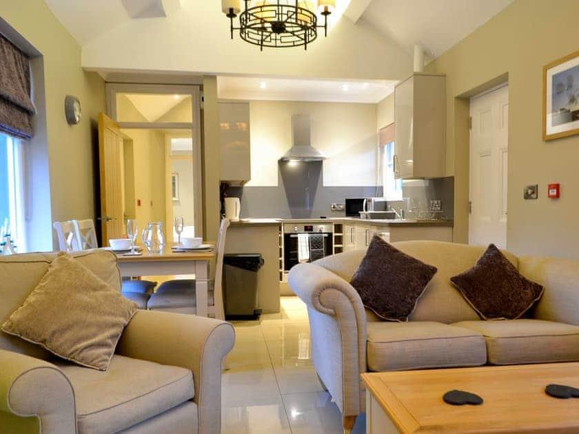 Spacious open plan living space | Llys Celyn - Ty Edleston House, Aberystwyth