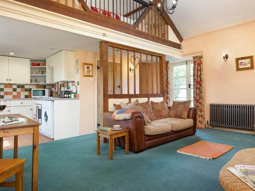 Delightful open plan living space | The Cider Barn - Highdown Farm, Bradninch