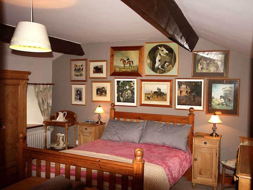 Relaxing double bedroom | Shepherd's Cottage, Longshaw near Hawes