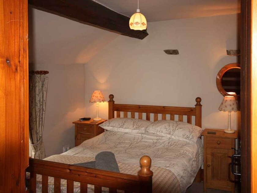 Comfortable double bedroom | Shepherd's Cottage, Longshaw near Hawes