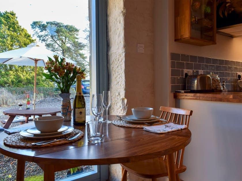 Light dining area | The Outside Room, Near Ladybank, Cupar