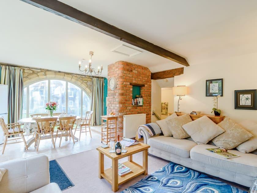 Spacious open plan living space | The Smithy - Laskill Grange, Bilsdale, near Helmsley