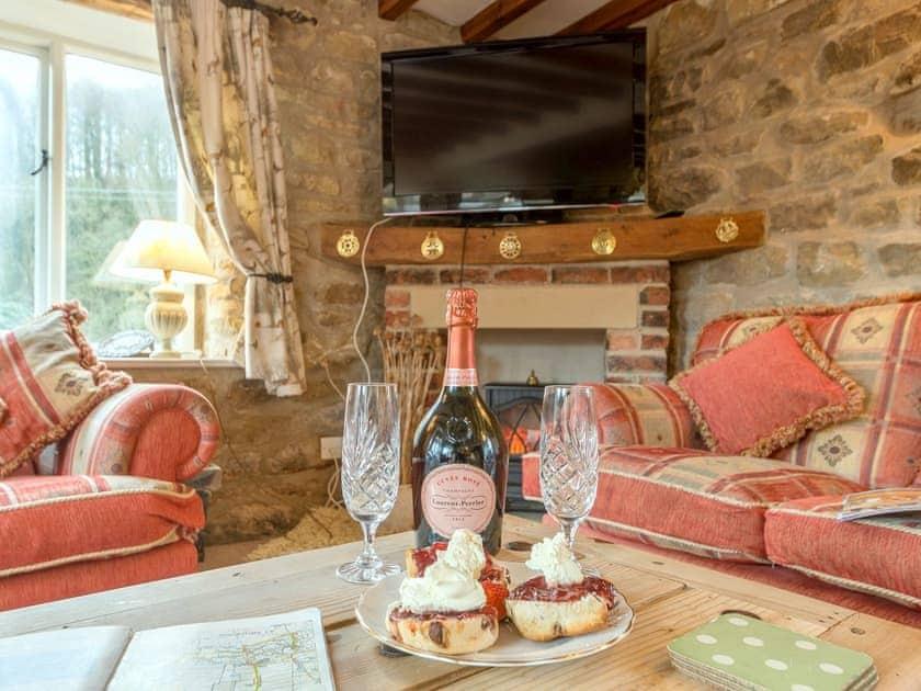 Attractive living area   The Granary - Laskill Grange, Bilsdale, near Helmsley