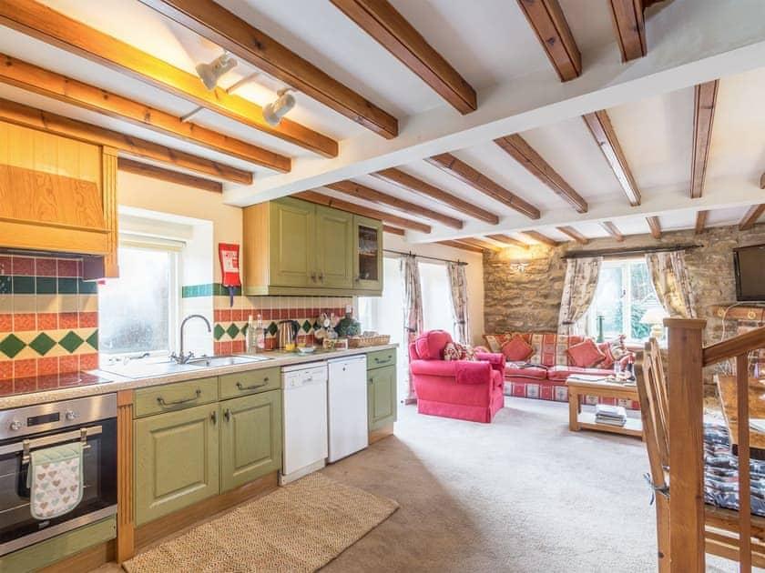 Characterful open plan living space   The Granary - Laskill Grange, Bilsdale, near Helmsley