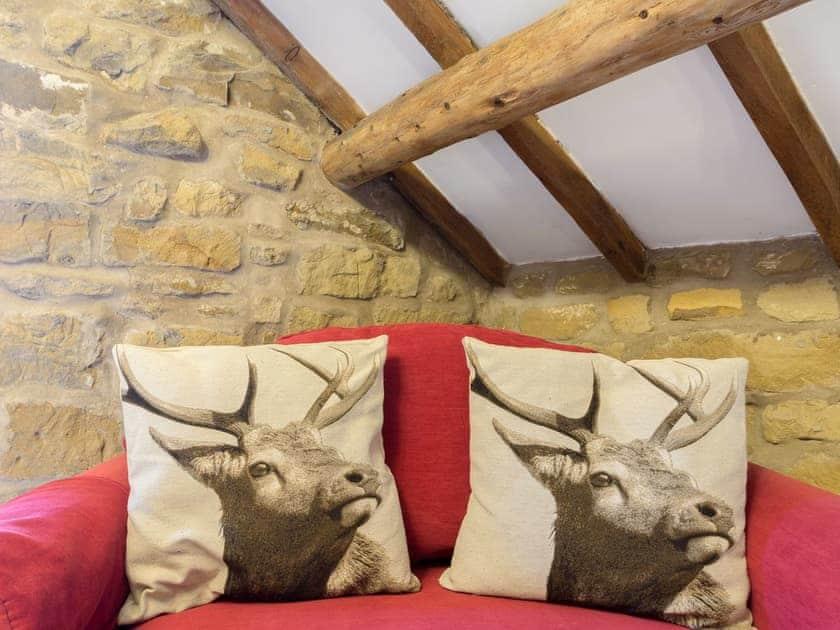 Seating area in the bedroom | The Granary - Laskill Grange, Bilsdale, near Helmsley