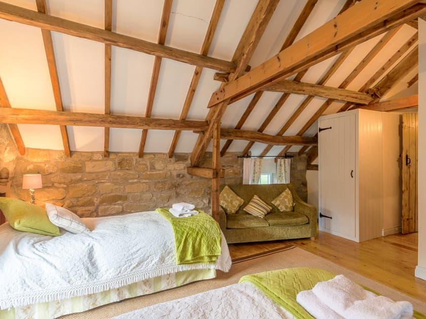 Well presented twin bedroom   The Granary - Laskill Grange, Bilsdale, near Helmsley