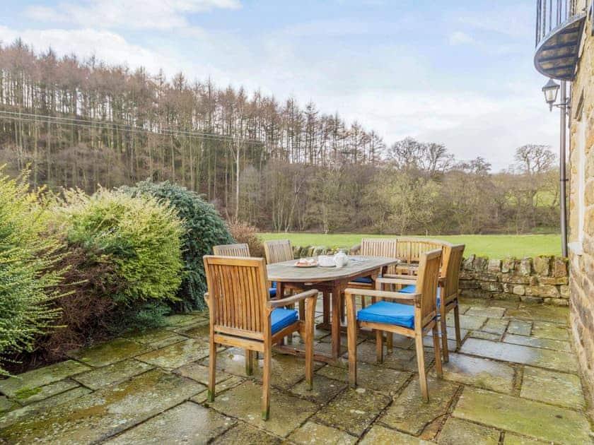 Delightful sitting out area   The Granary - Laskill Grange, Bilsdale, near Helmsley