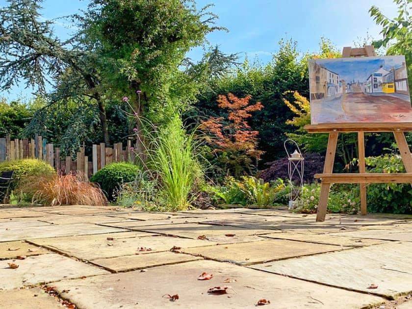 Delightful patio area   Bridge Cottage, St Michael's on Wyre