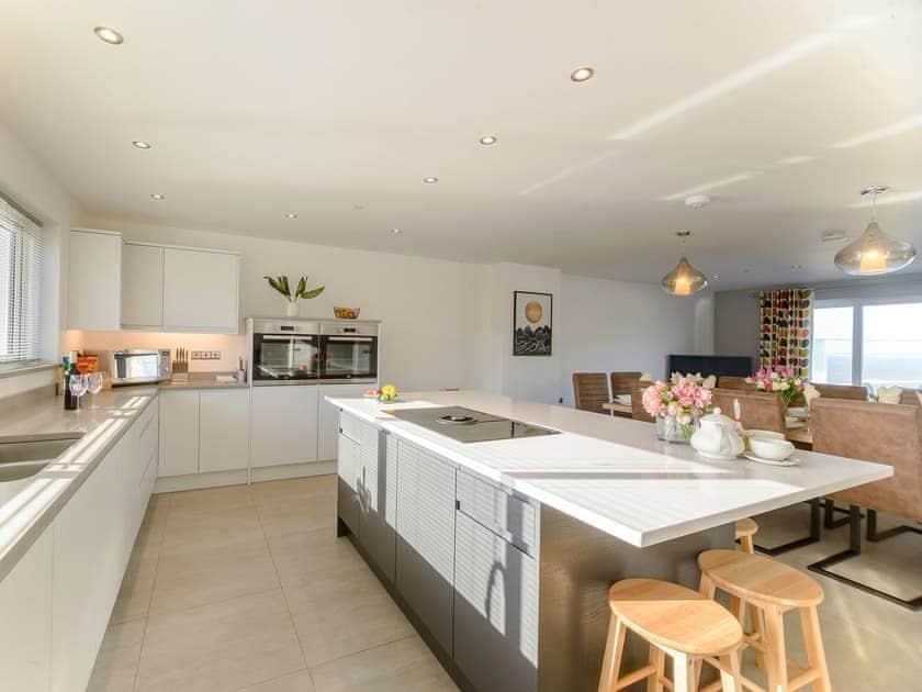 Stylish kitchen area | Ty Canol - Gwbert Holiday Cottages, Gwbert, near Cardigan