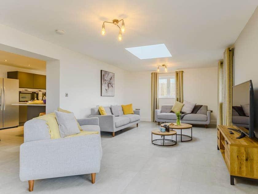 Comfortable living area | Meusydd - Gwbert Holiday Cottages, Gwbert, near Cardigan