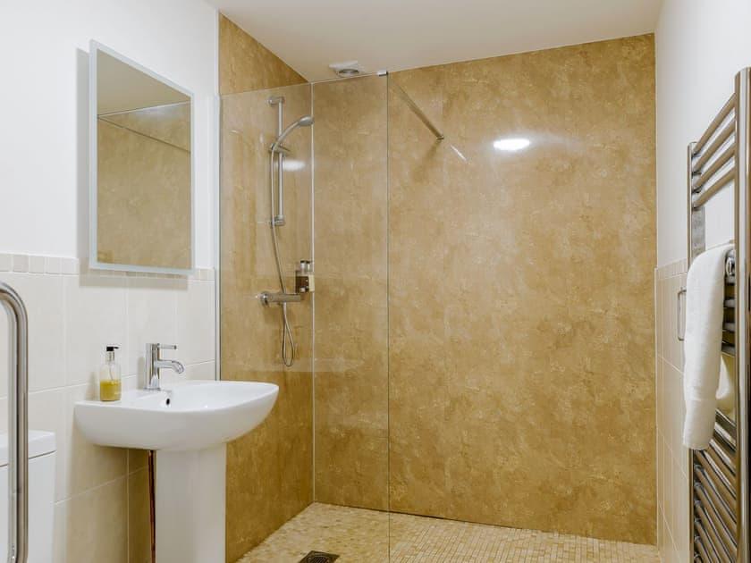 Shower room | Meusydd - Gwbert Holiday Cottages, Gwbert, near Cardigan