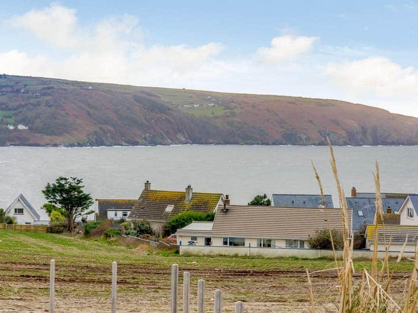 View | Meusydd - Gwbert Holiday Cottages, Gwbert, near Cardigan