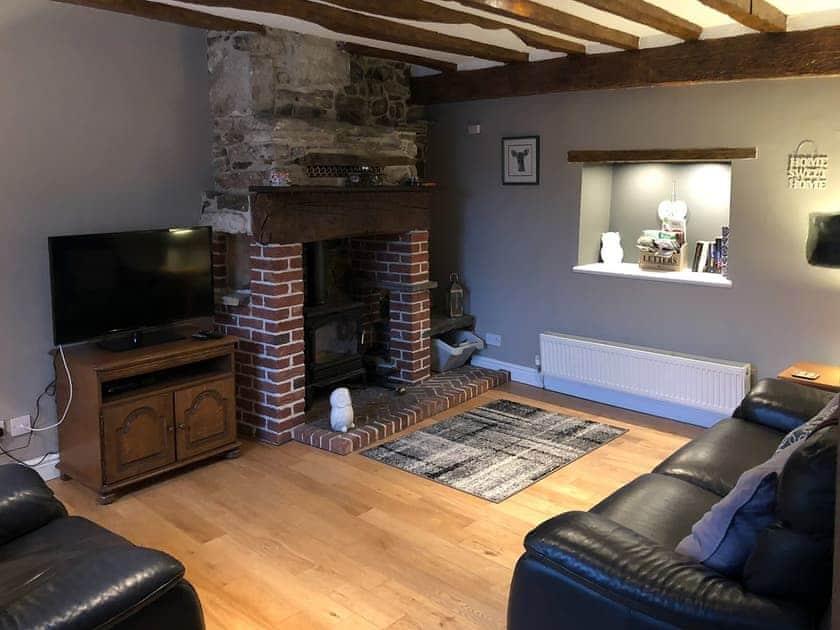 Delightful beamed living room | Mill Stone Cottage, Wolsingham, near Stanhope
