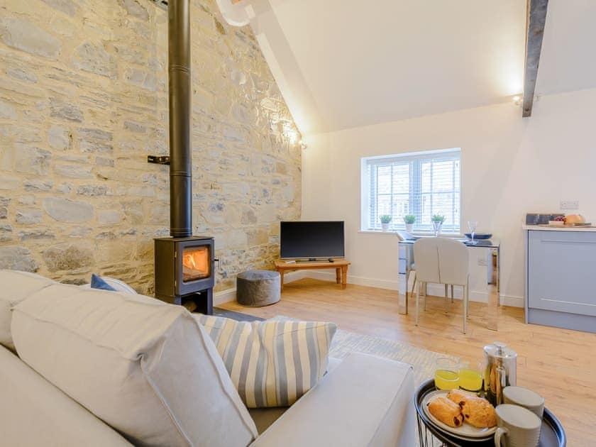 Delightful living area | 2, Bramley - Home farm holiday cottages, Badgworth, near Axbridge