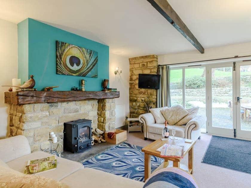Comfortable living area   The Forge - Laskill Grange, Bilsdale, near Helmsley