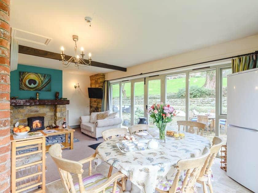 Charming dining area   The Forge - Laskill Grange, Bilsdale, near Helmsley
