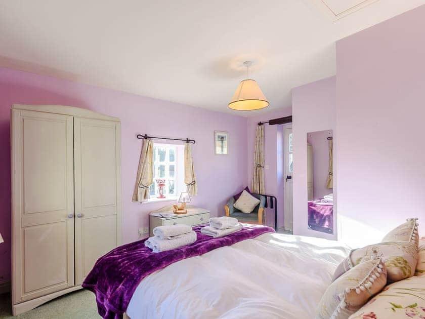 Comfortable double bedroom with en-suite   The Forge - Laskill Grange, Bilsdale, near Helmsley