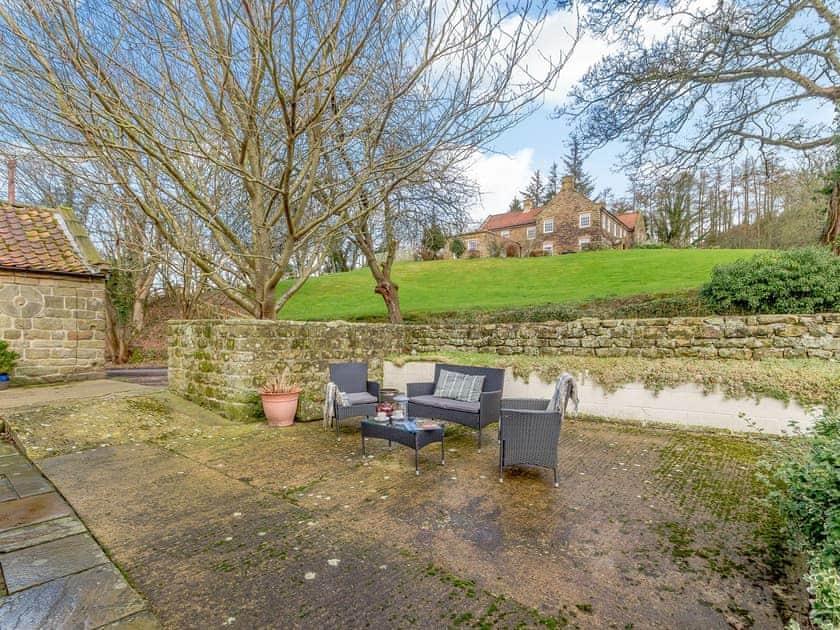 Sitting out area | The Forge - Laskill Grange, Bilsdale, near Helmsley