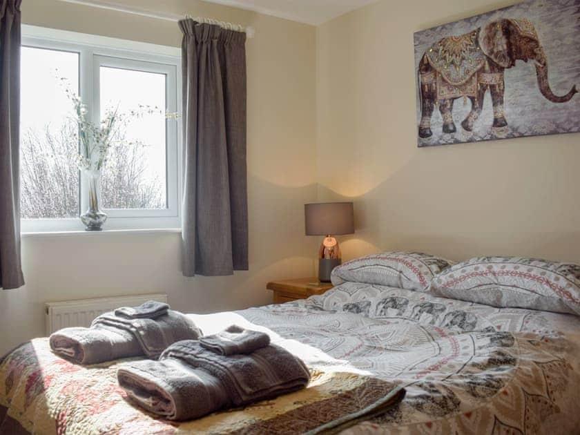 Double bedroom   Meadow View, Harley, near Much Wenlock
