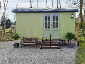 Shepherd's Hut At Craig Innes