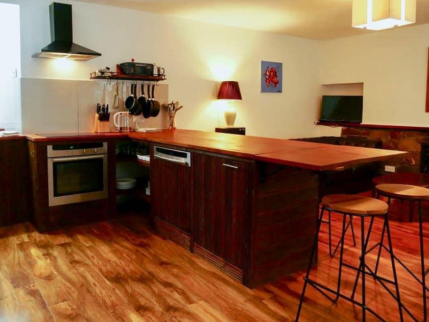 Spacious open plan living space | Stable Cottage - Torridon Estate, Torridon