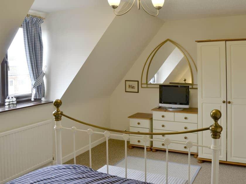 Comfortable double bedroom | The Town House, Hunstanton