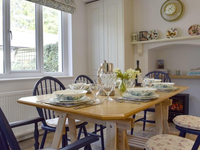 Charming dining area | Eastercott, Winsford, near Minehead