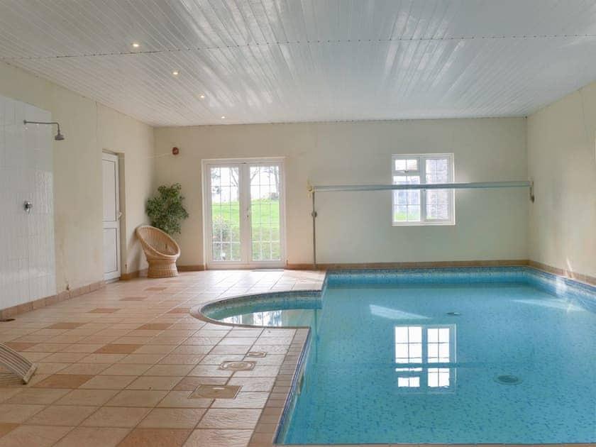 Indoor swimming pool (shared) | Beaconside, Monkleigh, near Bidef