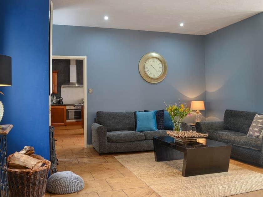 Comfortable living room | Beaconside Lodge - Beaconside, Monkleigh, near Bideford