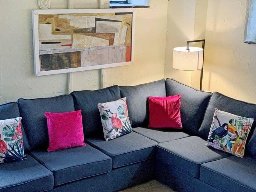 Comfortable living room | The Stables at Riber Hall, Riber, Matlock