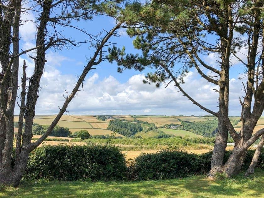 Stunning countryside views | The Beach Hive, Norton Park