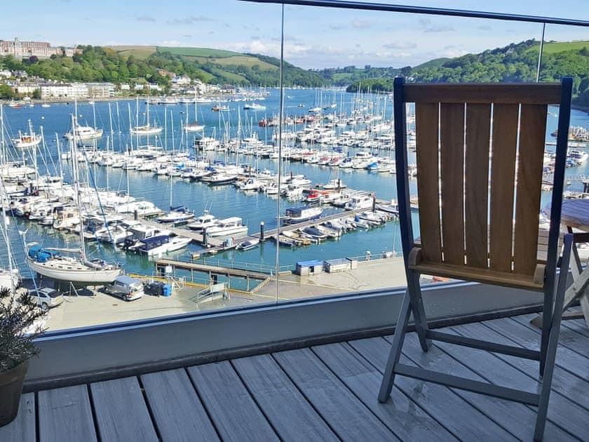 Inviting balcony with amazing views | Upper Riverdene, Kingswear