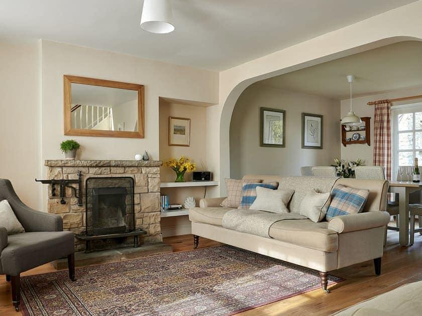 Living room/dining room | Hungate Cottages - Levisham - Hungate Cottages, Pickering