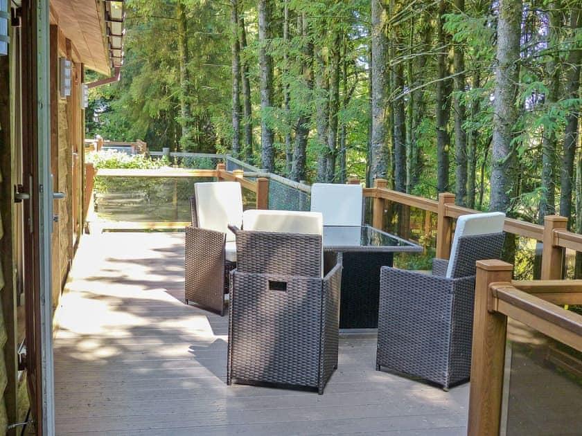 Inviting patio area  | Ash Lodge, Clatworthy, near Williton
