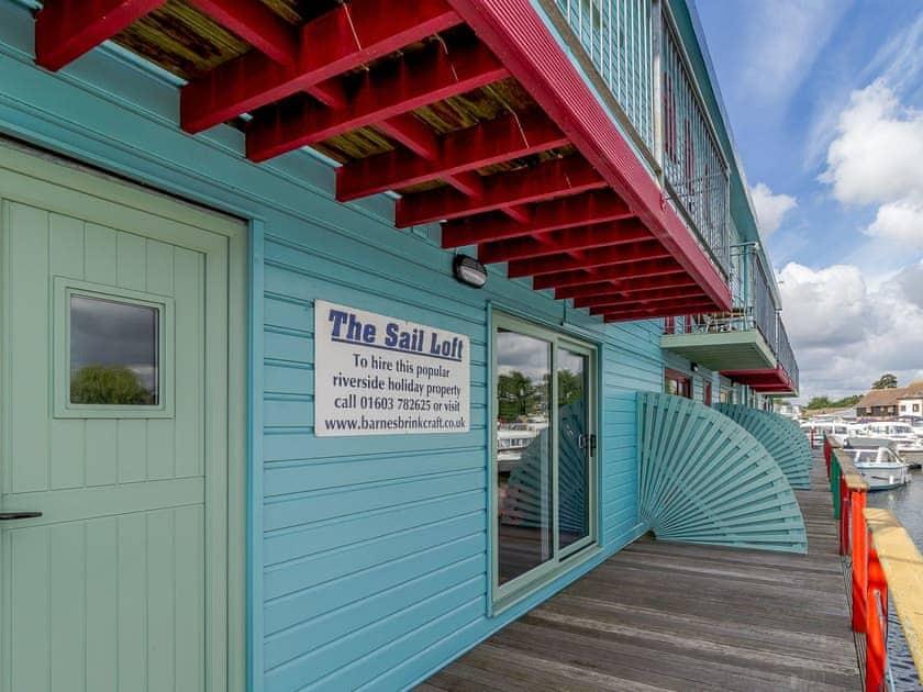 Exterior | Jib Sail - The Sail Loft, Wroxham