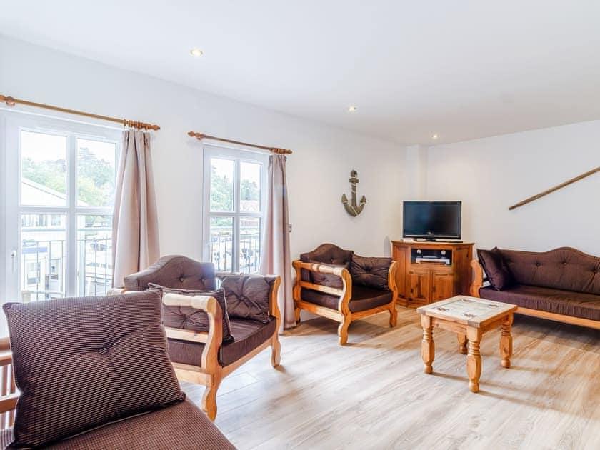 Living room   Top Sail - The Sail Loft, Wroxham