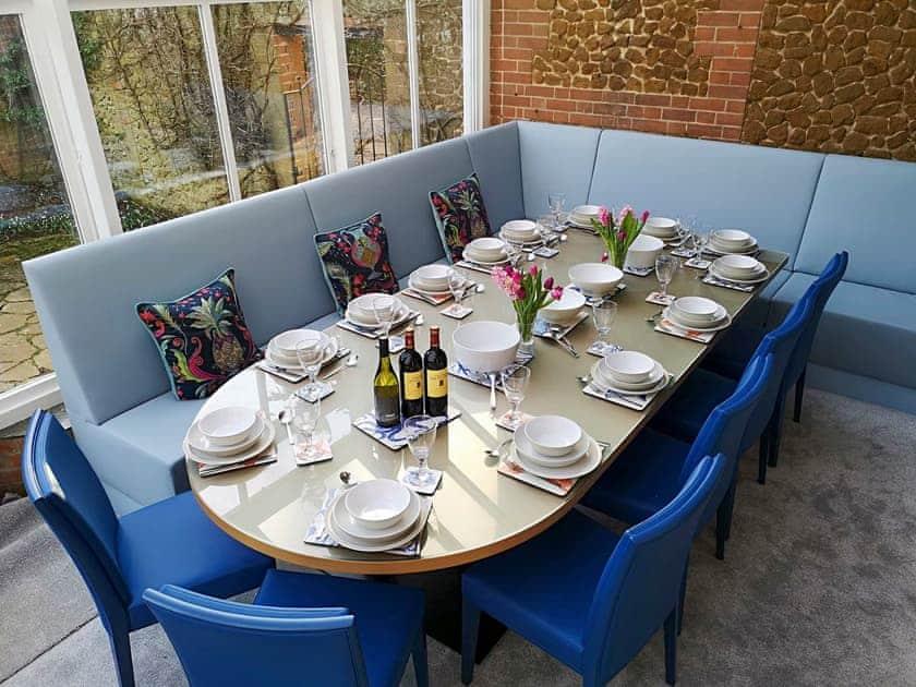 Dining room | Sutton Lea Manor, Snettisham