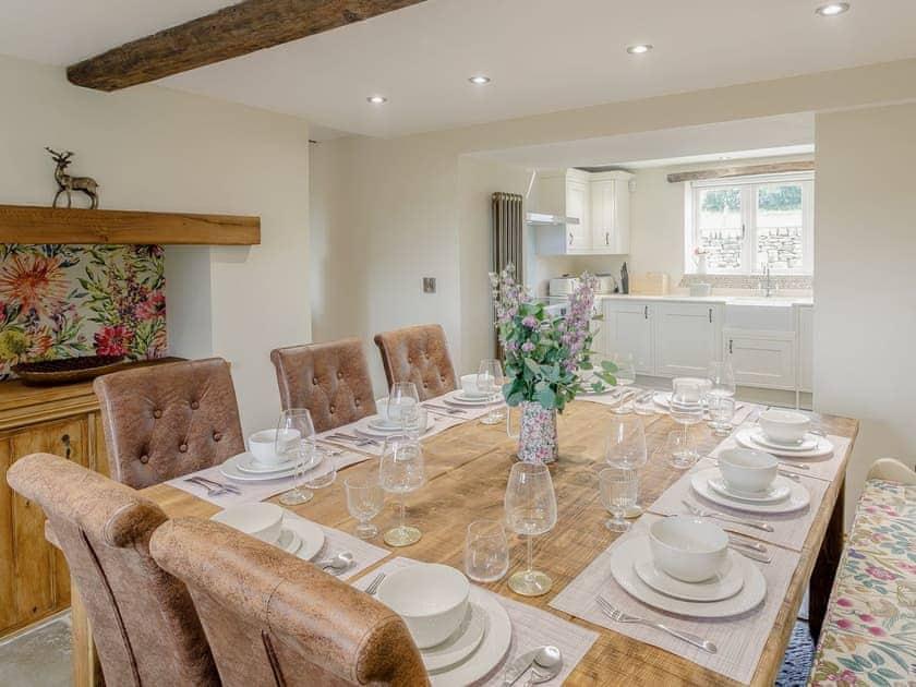 Dining Area | Alton Hall Cottage, Alton, nr Chesterfield