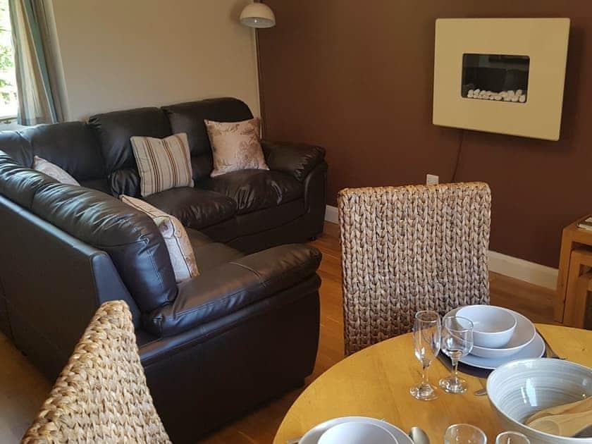 Open plan living space | Beudy Bach - Bwlch Y Person Barns, Dihewyd, near Aberaeron