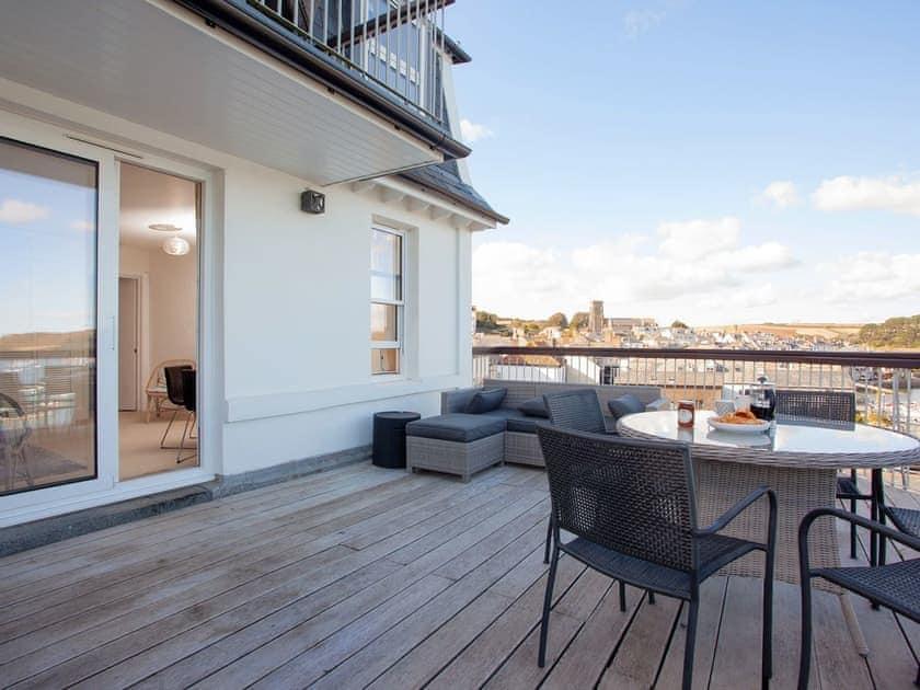 Spacious semi-circular balcony | Salcombe 31, Salcombe