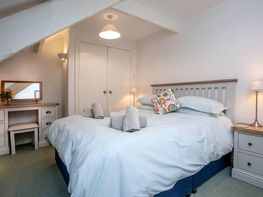 Double bedroom | Milbourne Cottage - Tuckenhay Mill, Bow Creek, between Dartmouth and Totnes