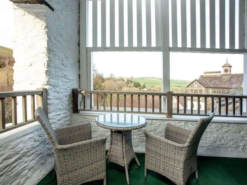 Balcony | Tuckenhay Mill House - Tuckenhay Mill, Bow Creek, between Dartmouth and Totnes
