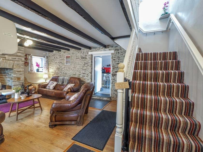 Comfortable living room   Y Bwthyn, Talgarreg, near New Quay