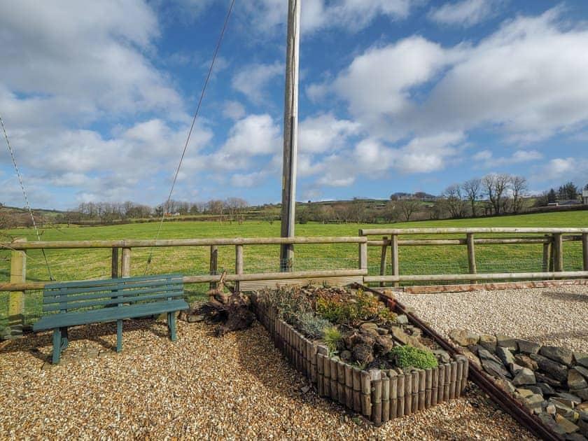 Garden   Y Bwthyn, Talgarreg, near New Quay