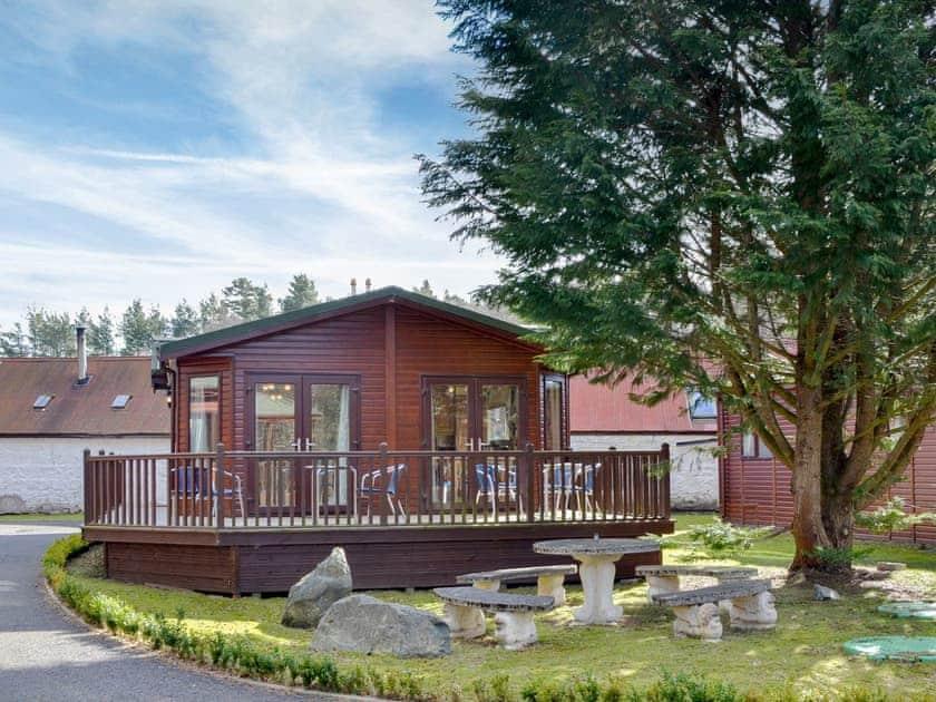 Royal Deeside Woodland Lodges - Lodge E