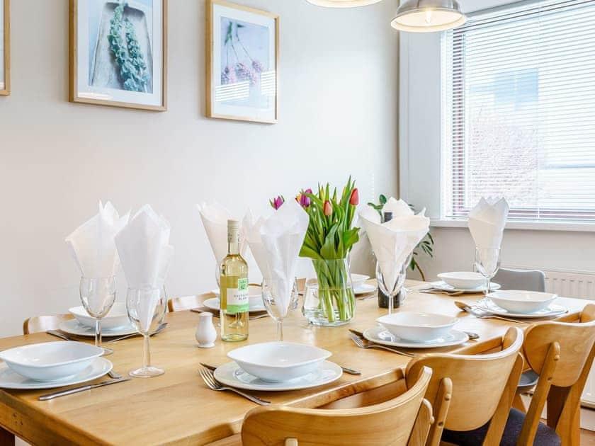 Dining Area | Gwbert Holiday Cottages- Gwynt y Mor - Gwbert Holiday Cottages, Gwbert, Cardigan Bay