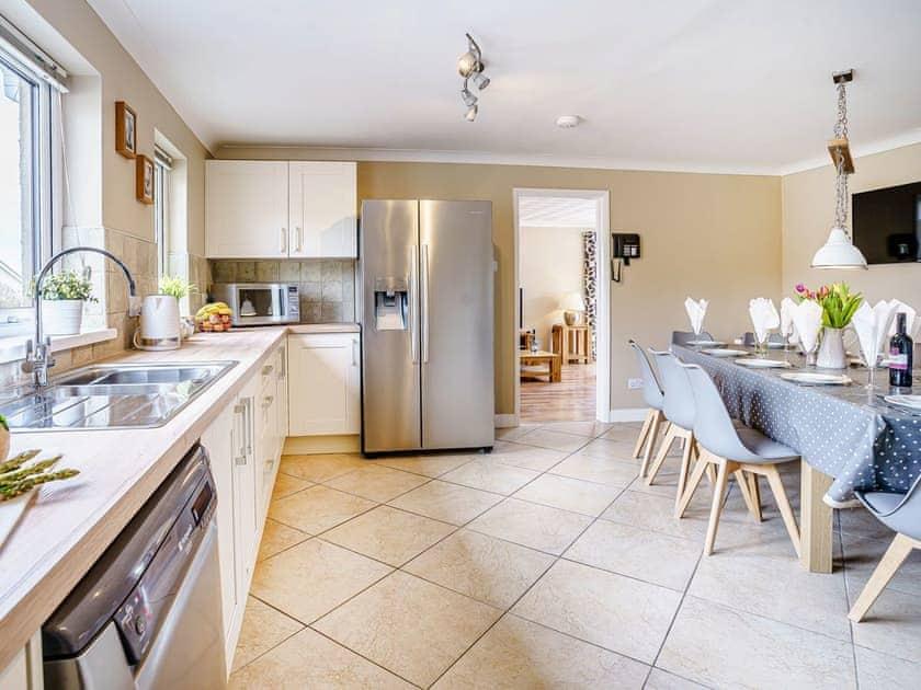 Kitchen/diner | Gwbert Holiday Cottages- Hafdir - Gwbert Holiday Cottages, Gwbert, near Cardigan